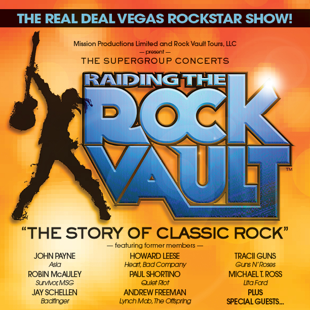 Raiding the Rock Vault at the Las Vegas Hotel LVH