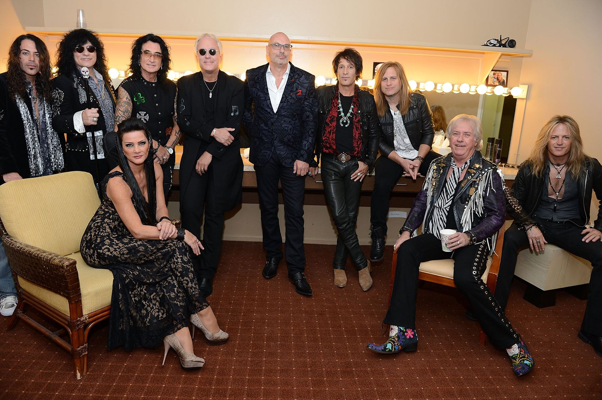 """Raiding the Rock Vault"""" Celebrates Debut at The New Tropicana Las Vegas with Star-Studded Red Carpet Event"""